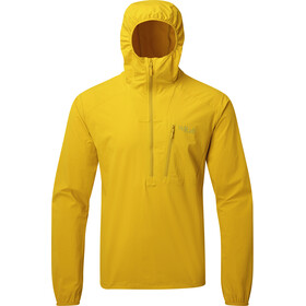 Rab Borealis Pull-On Windbreaker Men, sulphur